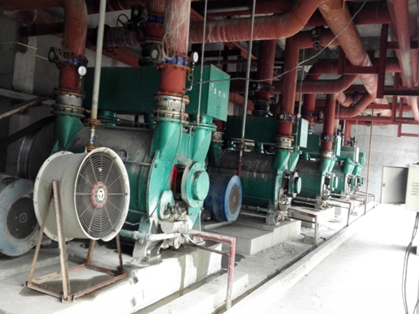 Application of CV3100 Frequency Converter in Vacuum Pump of Paper Mill